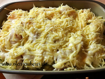 Spargel Kartoffel Gratin in der Ofenhexe aus dem Pampered Chef Onlineshop
