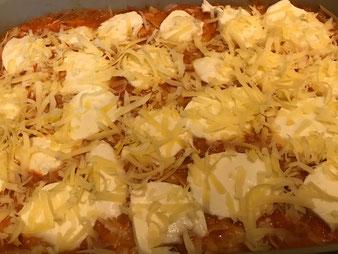Ravioli Tortelini al forno Auflauf in der Ofenhexe von Pampered Chef aus dem Onlineshop