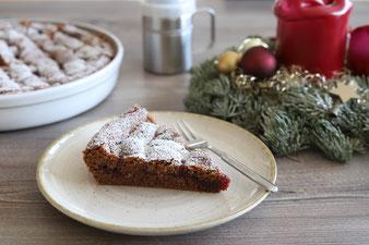 Linzer Torte in der Stoneware rund oder runden Ofenhexe von Pampered Chef