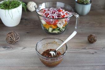 Mediterranes Ofengemüse im Backofen mit Pampered Chef