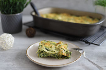 Spinat-Lasagne in der Ofenhexe aus dem Pampered Chef Onlineshop