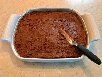 Schoko Kirsch Kuchen mit Streuseln aus dem großen flachen Bäker im Pampered Chef Onlineshop bestellen