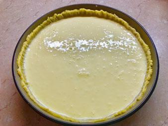 Käsekuchen Tränenkuchen Vanillekuchen in der Stoneware rund aus dem Pampered Chef Onlineshop bestellen