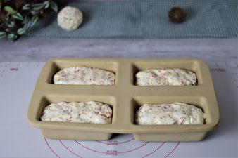 Rezept für Mini-Kastenform von Pampered Chef