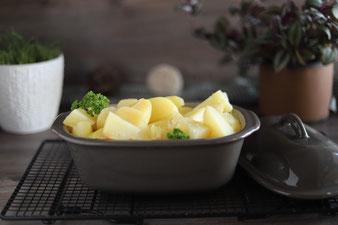 Salzkartoffeln im kleinen Zaubermeister Lily aus dem Pampered Chef Onlineshop