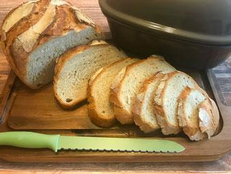 Französisches Brot im Bräter Pain á la Cocotte im Ofenmeister oder Zaubermeister aus dem Pampered Chef Onlineshop kaufen