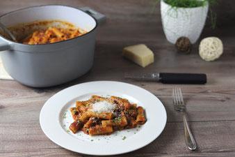 One Pot Pasta im Emaillierter gusseiserner Topf mit 5,7 l von Pampered Chef im Onlineshop bestellen