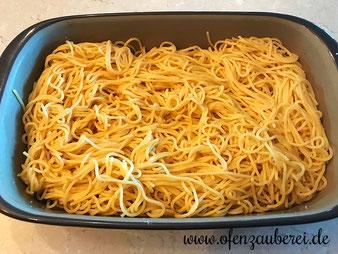 Spaghetti Carbonara in der Ofenhexe von Pampered Chef aus dem Onlineshop bestellen