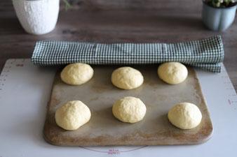 Faschingskrapfen aus dem Backofen, Ofenberliner, Krapfen aus dem Ofen vom Zauberstein von Pampered Chef