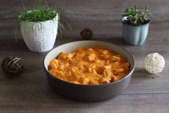 Tortellini-Gratin aus der Pampered Chef Ofenhexe im Pampered Chef Onlineshop