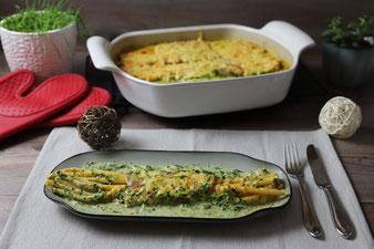 Spinat-Makkaroni Gratin im Bäker aus dem Pampered Chef Onlineshop kaufen