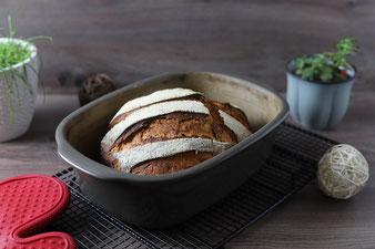 Brot im Ofenmeister, Packs an Silikonhandschuhe und Kuchengitter von Pampered Chef