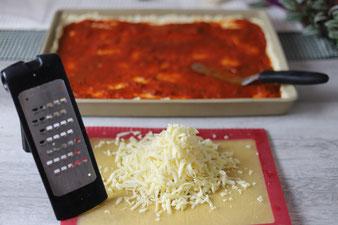 Grobe Microplane Reibe zum Käse reiben von Pampered Chef