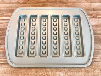 Waffelform Kuchenriegelform von Pampered Chef im Onlineshop kaufen
