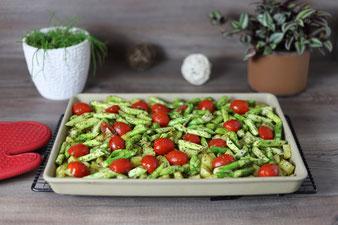 Gemüse auf dem großen Ofenzauberer James von Pampered Chef aus dem Onlineshop