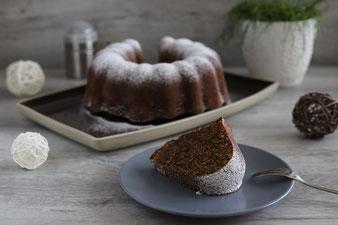 Herbstkuchen Gewürzkuchen Gugelhupf in der Kranzform mit Silikonpinsel und Kuchengitter aus dem Pampered Chef Onlineshop kaufen