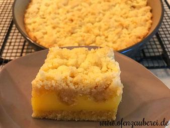 Pudding Streuselkuchen in der Stoneware rund aus dem Pampered Chef Onlineshop bestellen