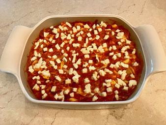 Tomate Mozzarella Tortellini Gratin Auflauf aus dem großen Bäker im Pampered Chef Onlineshop bestellen