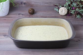 Käsesoße in der Ofenhexe von Pampered Chef