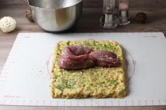 Schweinefilet im Semmelknödelmantel aus dem Ofenmeister von Pampered Chef