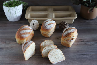 Mini-Baguettes in der Mini-Kastenform im Pampered Chef Onlineshop