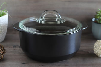 Rockcrok Töpfe und Grillsteine von Pampered Chef wie Stoneware Zauberstein, Zaubermeister, Ofenmeister im Onlineshop bequem online bestellen und kaufen