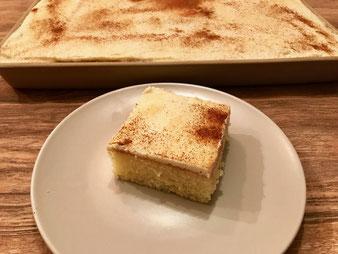 Sahne Schnittchen Sahnekuchen Biskuit aus dem Ofenzauberer James im Pampered Chef Onlineshop bestellen