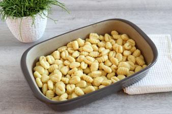 Gnocchi Bolognese Gratin in der Ofenhexe mit Microplane Reibe aus dem Pampered Chef Onlineshop bestellen