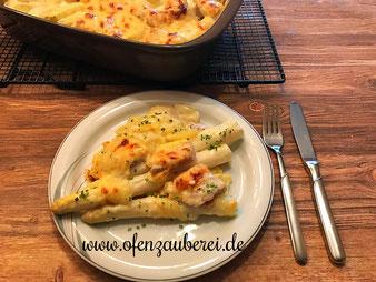 Spargel Kartoffel Gratin in der Ofenhexe aus dem Pampered Chef Onlineshop