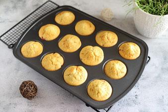 Erdbeer Muffins oder Erdbeer Törtchen
