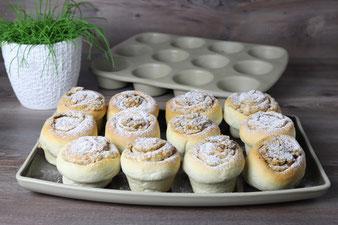 Krokantschnecken aus dem 12-er Snack Muffinform im Pampered Chef Onlineshop kaufen