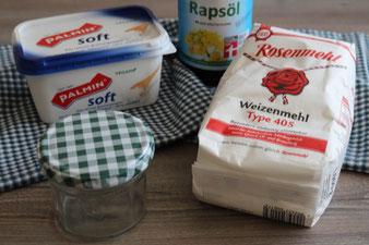 Backtrennmittel BTM für Kuchenformen zum Einpinseln aus dem Thermomix für die Stoneware von Pampered Chef
