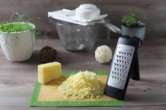 Grobe Microplane Reibe, große Nixe und kleiner Küchenhobel von Pampered Chef im Onlineshop