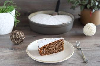 Rotweinkuchen in der Stoneware rund aus dem Pampered Chef Onlineshop