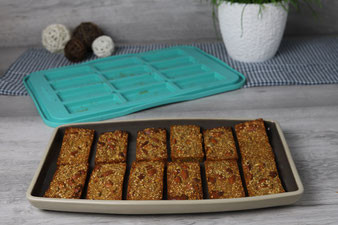 Sesam Müsliriegel im Snack Maker von Pampered Chef Onlineshop bestellen