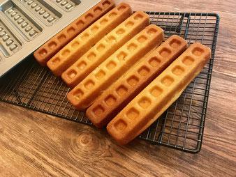 Waffeln aus der Kuchenriegel-Form im Pampered Chef Onlineshop bestellen
