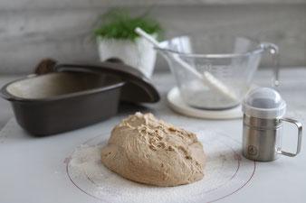 Brot aus dem kleinen Zaubermeister Lily mit Nixe, Teigunterlage und Streufix sowie Kuchengitter im Pampered Chef Onlineshop bestellen