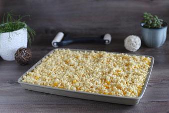 Streuselkuchen auf dem großen Ofenzauberer James online im Pampered Chef Onlineshop kaufen