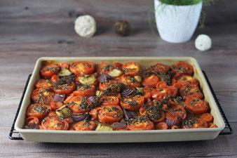 Geröstete Tomaten im Ofenzauberer James von Pampered Chef