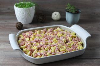 Tortellini aus dem Ofen im Bäker von Pampered Chef