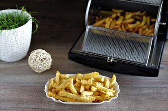 Selbstgemachte Pommes im Deluxe Airfryer von Pampered Chef aus dem Pampered Chef Onlineshop