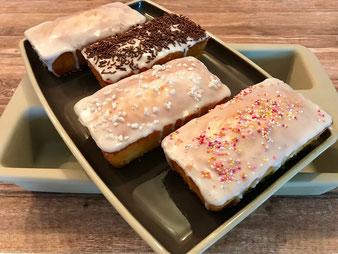 Mini Zitronenkuchen wie Starbucks aus dem Zauberkästchen oder Mini Kastenform im Pampered Chef Onlineshop bestellen