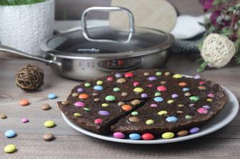 XXL Cookie aus der kleinen Edelstahlpfanne von  von Pampered Chef