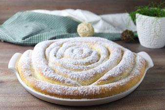 Flammkuchen-Focaccia auf der White Lady von Pampered Chef