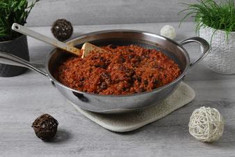 Chili con Carne in der Pamperedchef Edelstahlpfanne Wokpfanne Antihaftpfanne im Pampered Chef Onlineshop bestellen