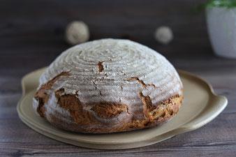 Brot mit Sauerteig Paul das Brot vom Pizzazauberer von Pampered Chef