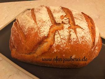 Kasseler im Brotteig mit Dinkelmehl aus dem Zaubermeister oder Ofenmeister von Pampered Chef aus dem Onlineshop