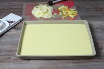 Ofenpfannkuchen Apfelpfannkuchen im großen Ofenzauberer James von Pampered Chef aus dem Onlineshop