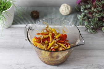 Gemüse in der 2 Liter Nixe von Pampered Chef