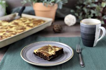 Eierlikör-Brownies im Ofenzauberer von Pampered Chef